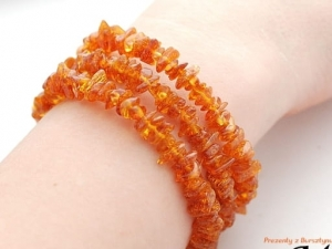 WIDE Amber Bracelet 11838 HONEY Colour Adjustable + Certificate