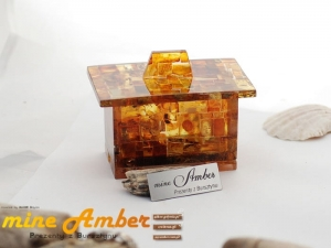 A CASKET | Amber Gifts for Companies | 9830
