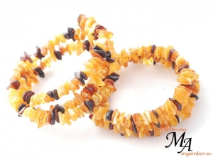 WIDE Amber Bracelet 11838 HONEY Colour Adjustable + Certificate (1)